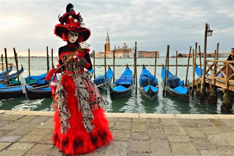 Karneval v Benátkách (fotografie 6)