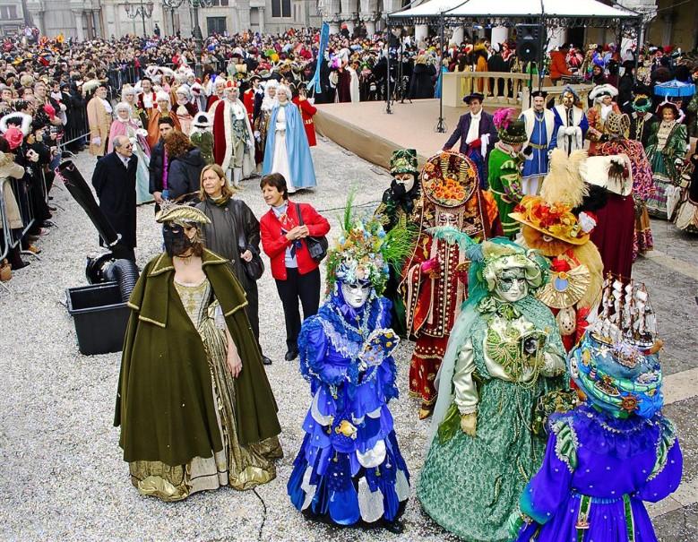 Karneval v Benátkách (fotografie 9)