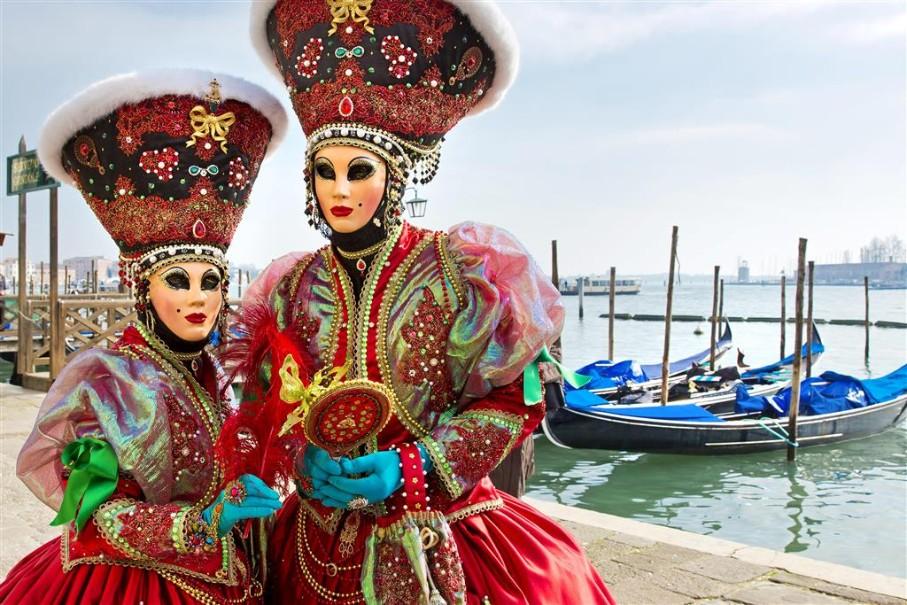 Karneval v Benátkách (fotografie 13)