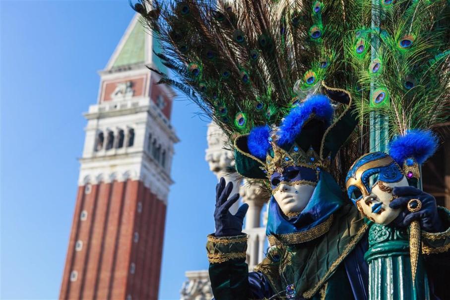 Karneval v Benátkách (fotografie 16)