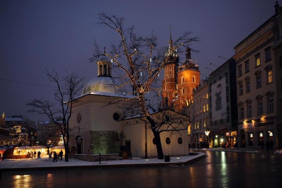 Adventní trhy v Krakově (fotografie 3)