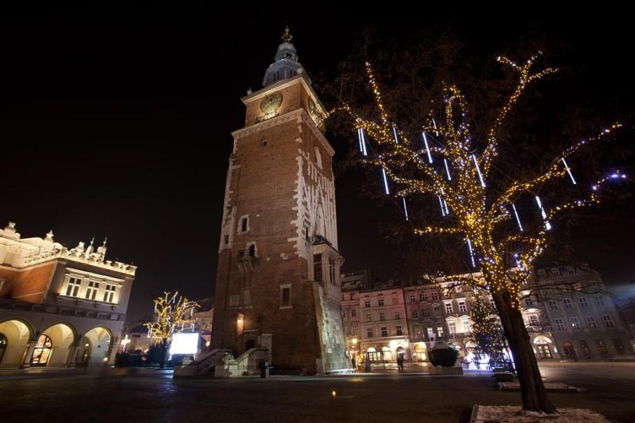 Adventní trhy v Krakově (fotografie 4)