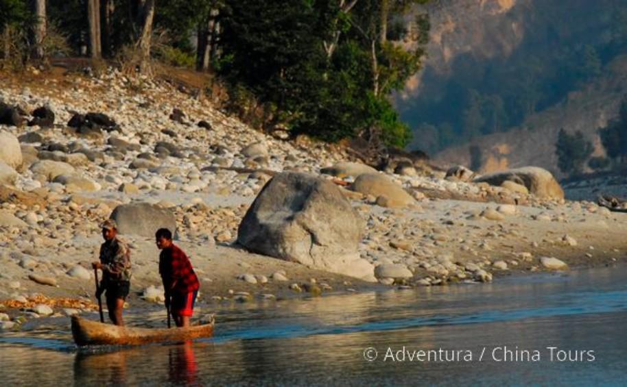 Rafting na himálajské řece Tamur (fotografie 13)