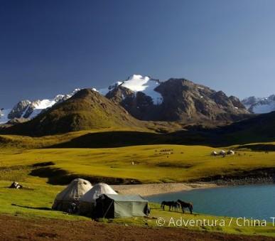 Krásy kyrgyzského Ťan-Šanu
