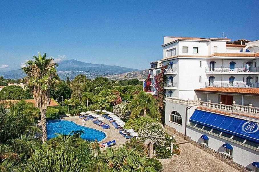 Hotel Sant´ Alphio Garden (fotografie 1)