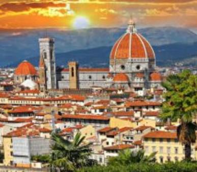 Florencie letecky