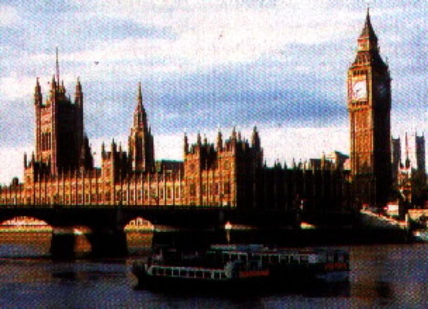 Silvestr v Londýně (fotografie 2)