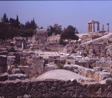 Řecko, za starověkými památkami