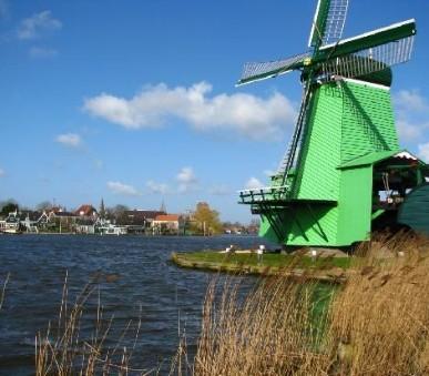 Přírodní parky a ostrovy severu Nizozemska a Gogh