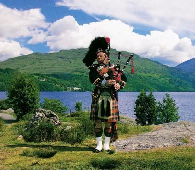 Skotsko, Orkneje - letecky