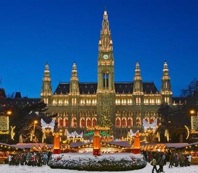 Vídeň - kouzlo adventu
