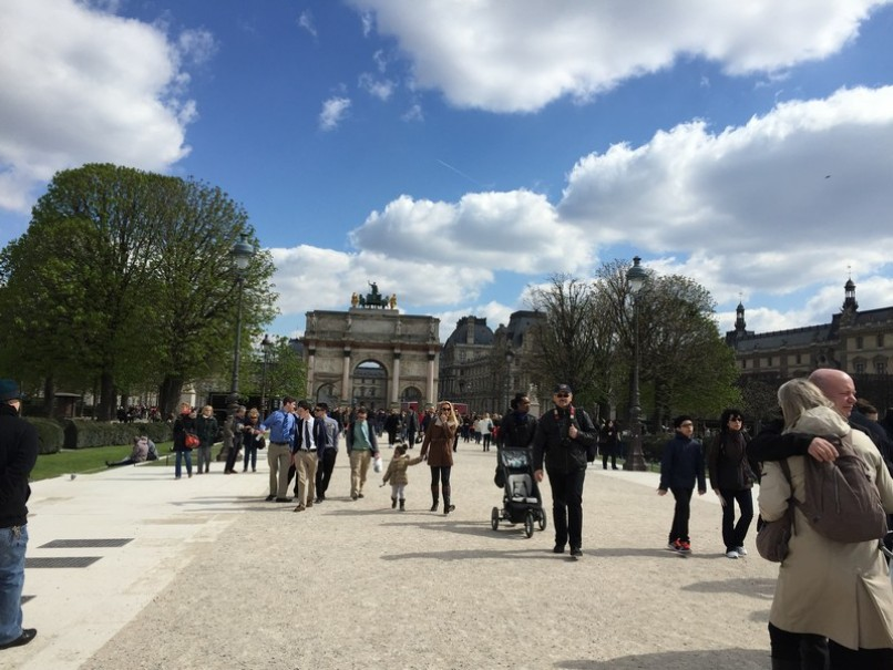 Paříž a Versailles od A do Z – hotely Campanille a Premiere (fotografie 35)