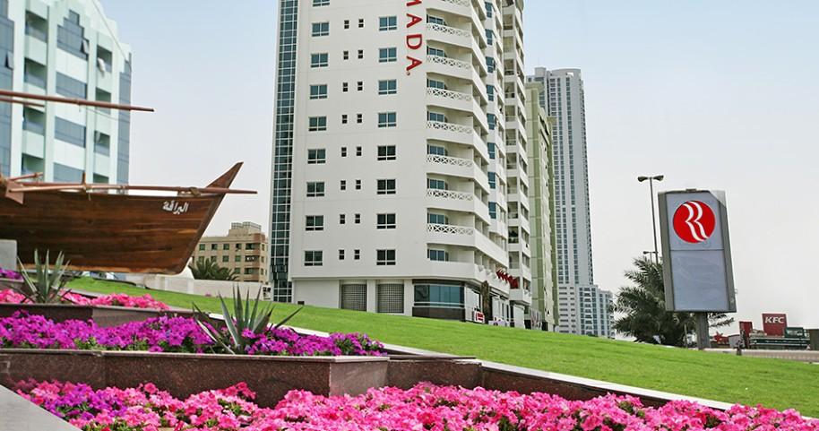 Hotel Ramada Beach Hotel Ajman (fotografie 4)