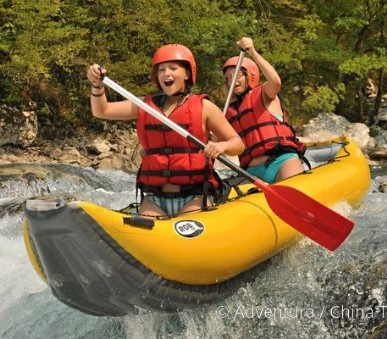Letní řeky Balkánu