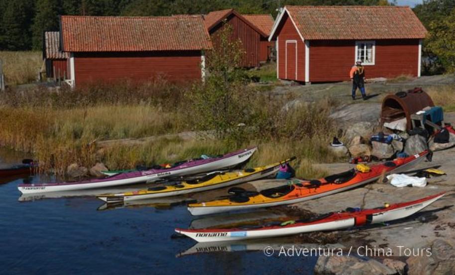 Seakajak – Švédsko (fotografie 13)