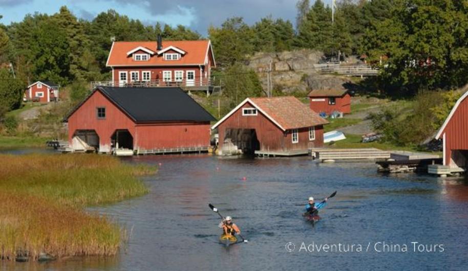 Seakajak – Švédsko (fotografie 1)