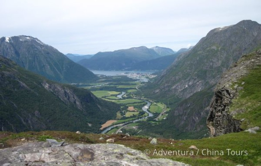 Letní řeky Skandinávie (fotografie 3)