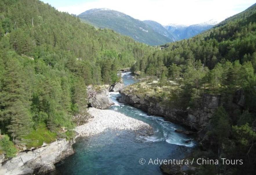 Letní řeky Skandinávie (fotografie 6)