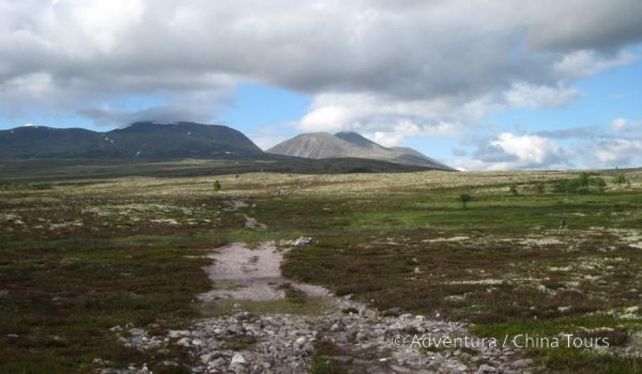 Letní řeky Skandinávie (fotografie 7)