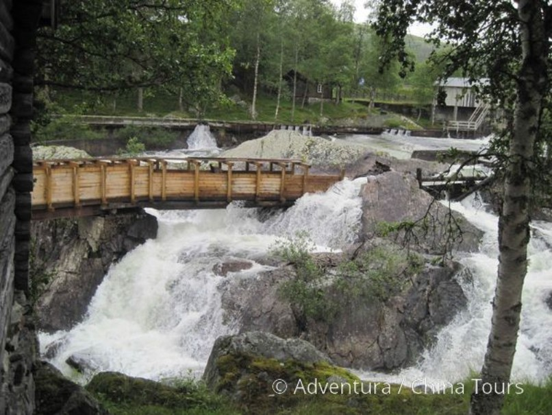 Letní řeky Skandinávie (fotografie 11)