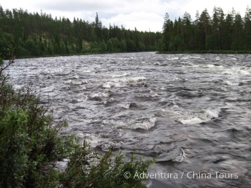Letní řeky Skandinávie (fotografie 13)