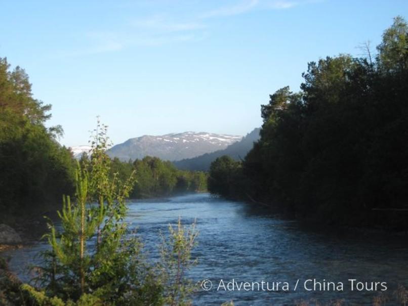 Letní řeky Skandinávie (fotografie 15)