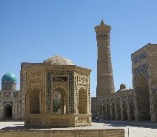 Uzbekistán - Hedvábná stezka + Moskva