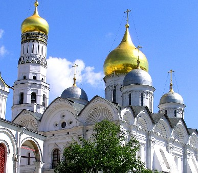 Moskva a zlatý prsten Ruska - letecky