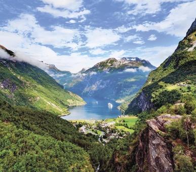 Královská cesta Norskem
