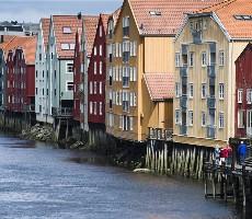 Z Trondheimu za Vodopády a fjordy Norska