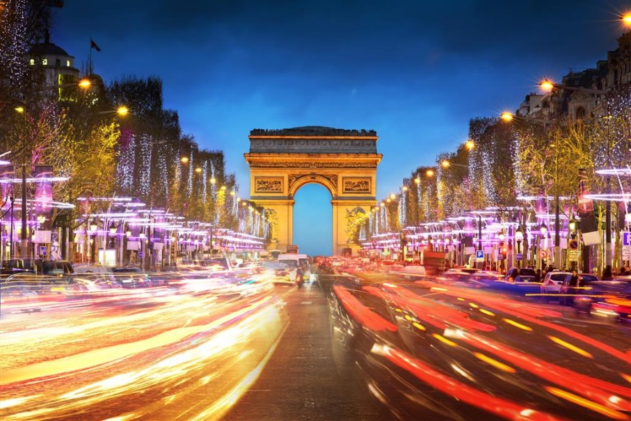 Kouzelná oslava Nového roku v romantické Paříži (fotografie 4)