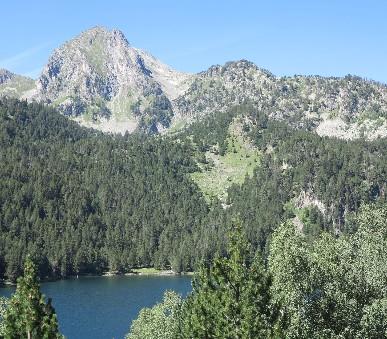 Národní parky Andorry a Pyrenejí - Letecky