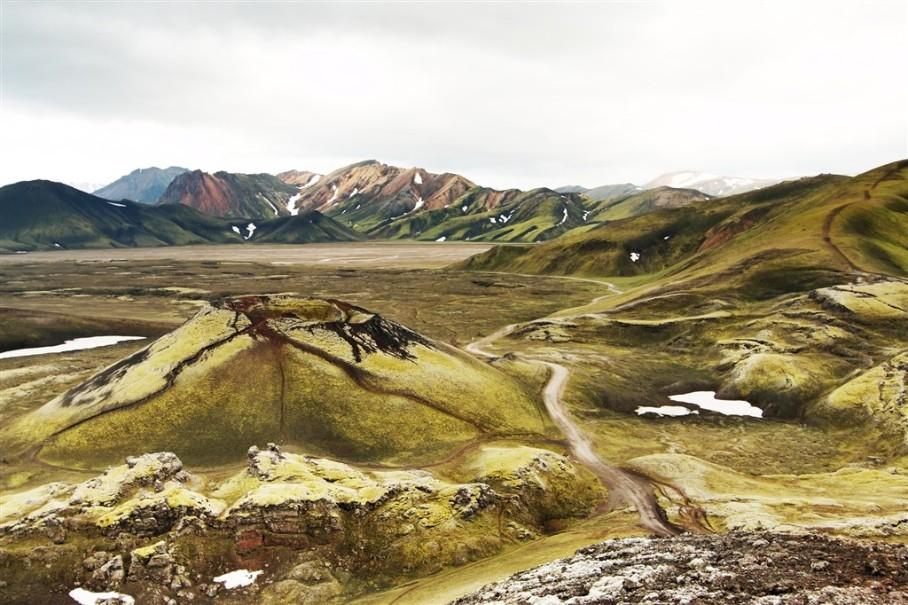 Island - mezi Ledovci, sopkami a horkými prameny (fotografie 10)