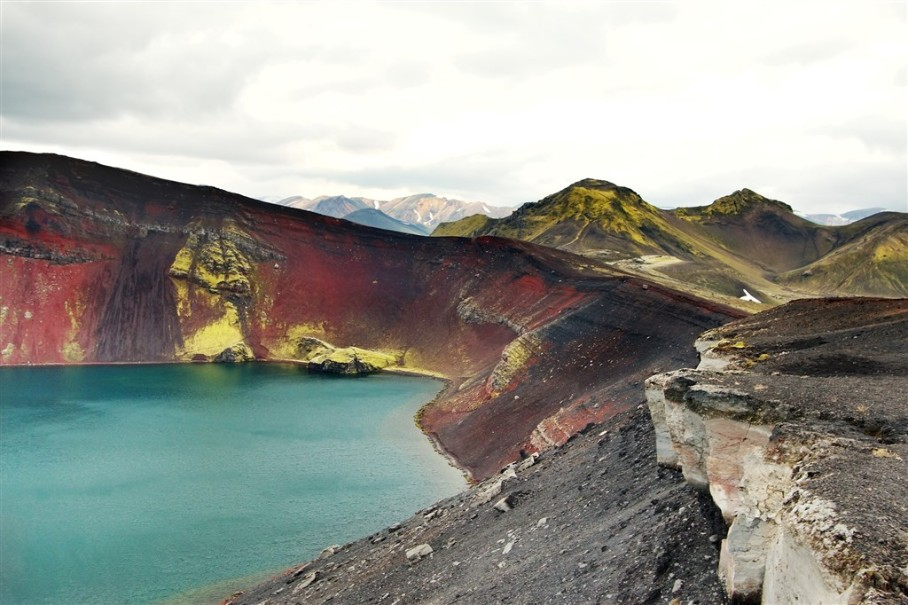 Island - mezi Ledovci, sopkami a horkými prameny (fotografie 12)