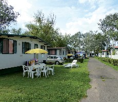 Aqua Camp Mobile Homes Aranypart