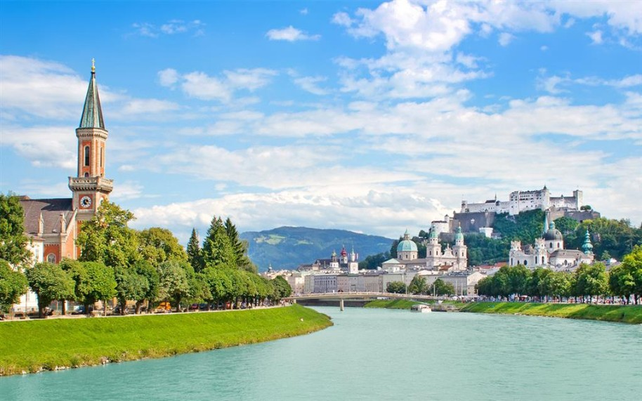 Okolí Berchtesgadenu a Salzburg (fotografie 13)