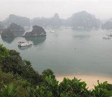 Okruh Vietnamem - cesta za romantikou