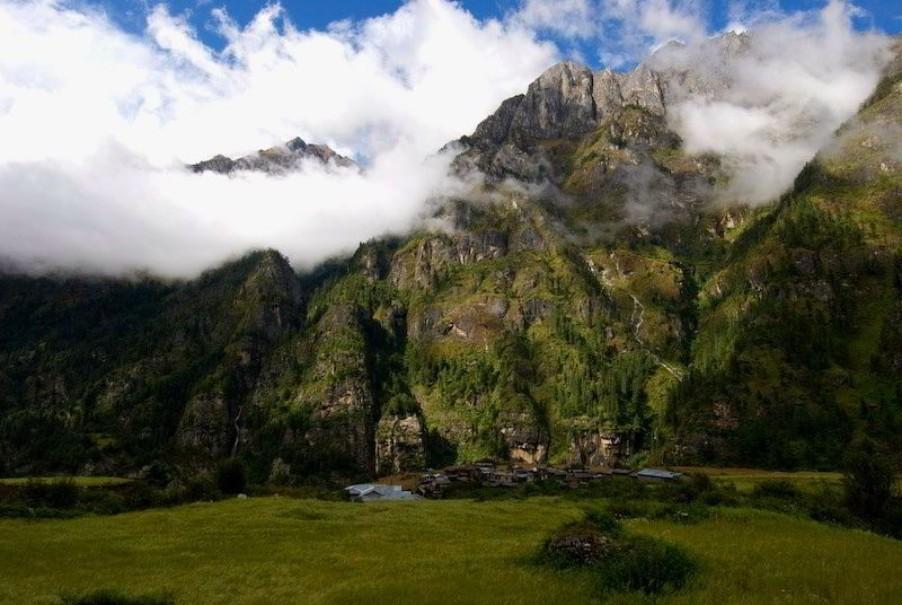 Trek do základního tábora Annapurny a divoká zvěř v NP Chitwan (fotografie 7)