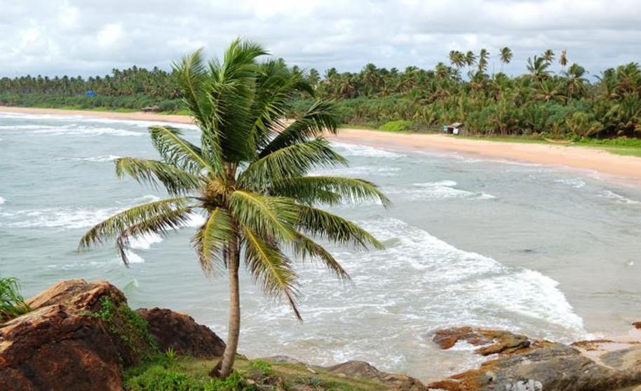 Nekonečně dlouhé pláže na Srí Lance