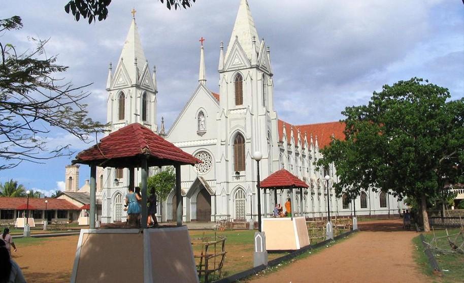 Gotický kostel St. Sebastian v Negombo