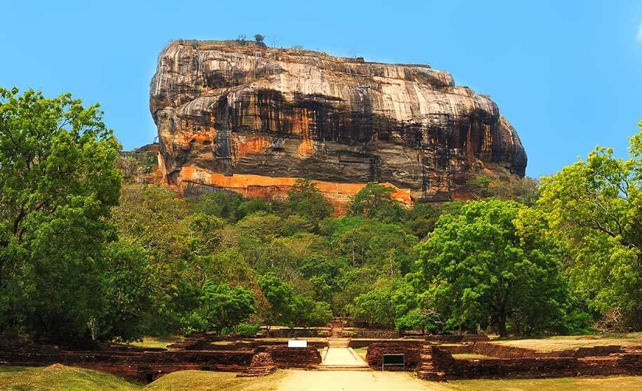 archeologické naleziště Sigiriya Rock Fortress