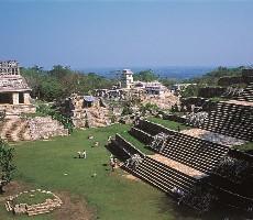 Památky Mexico City a Yucatánu