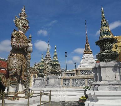 Thajsko - velký okruh + Kambodža