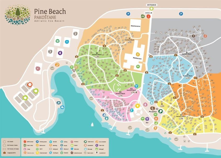 Bungalovy Resort Pine Beach Pakoštane (fotografie 2)