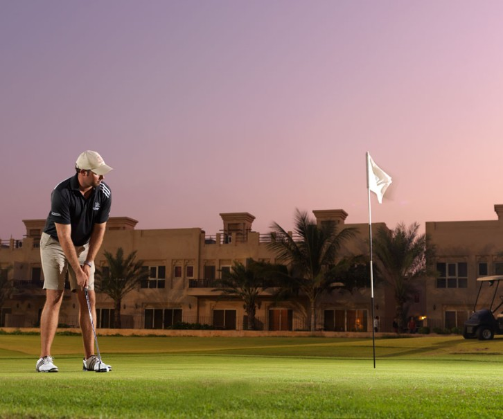 Hotelový komplex Al Hamra Village Golf & Beach Resort (fotografie 23)