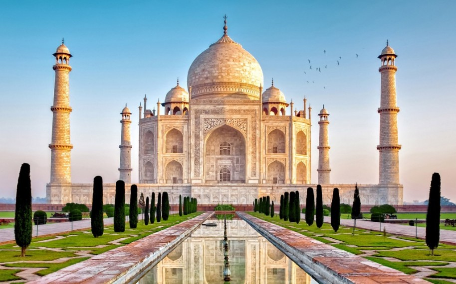 Zlatý indický trojuhelník (fotografie 1)