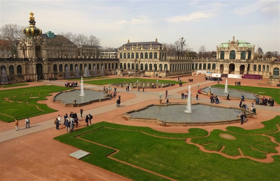 Barokní Drážďany, královský Berlín a Německé