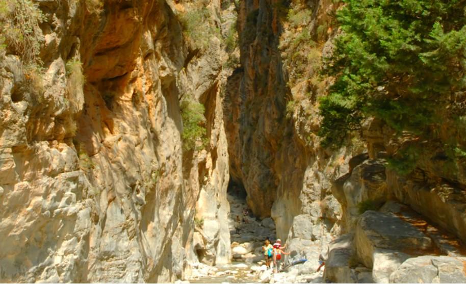 Kréta výlet soutěska Samaria příroda Řecko