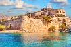 Kréta moře ostrov pevnost Spinalonga leprosarium Řecko