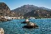 Kréta Paleochora moře slunce loď pobřeží romantika Řecko